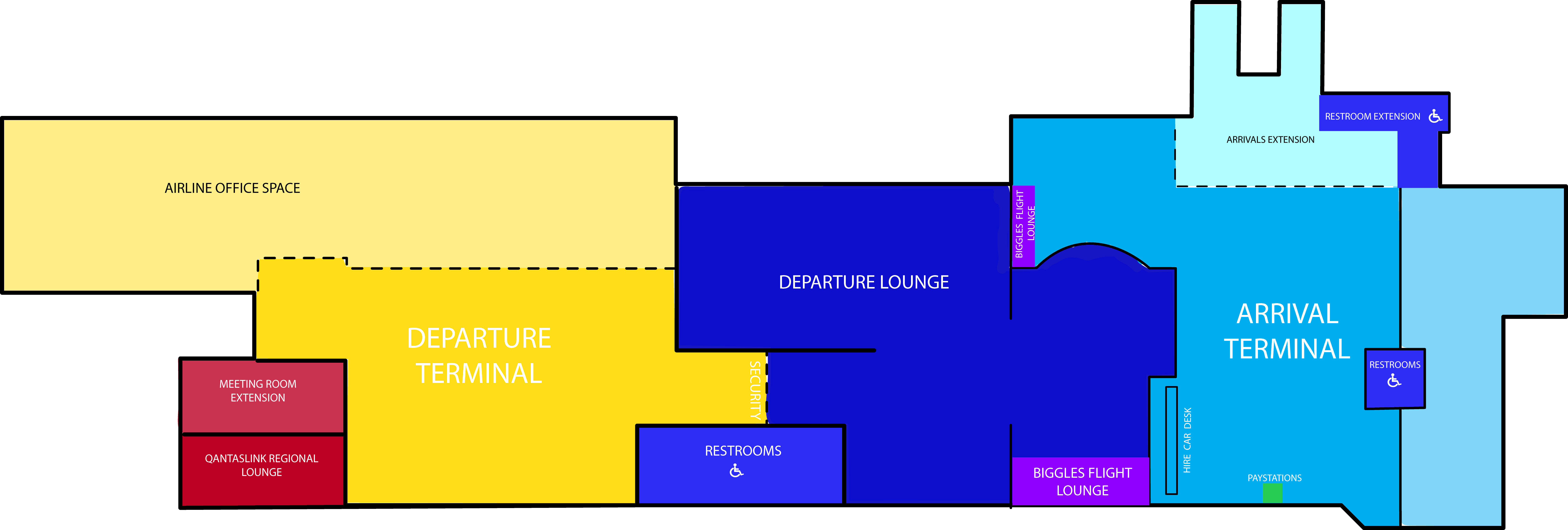 Airport Map Coffs Harbour Airport