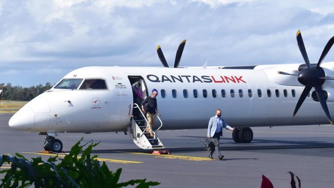 coffs-welcomes-qantas-brisbane-service